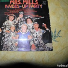 Discos de vinilo: MRS. MILLS ?– KNEES-UP PARTY,1975. Lote 116547415