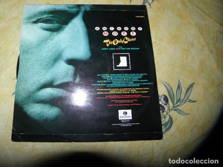 Discos de vinilo: Anthony More* ?– The Only Choice,12-45 RPM ,1984 - Foto 2 - 116549575