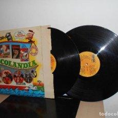 Discos de vinilo: 25 EXITOS DISCOLANDIA -BELTER -AÑO 1980- 2 LPS . Lote 116551367