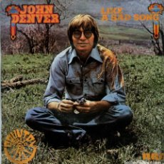 Disques de vinyle: JOHN DENVER / LIKE A SAD SONG / PEGASUS (SINGLE PROMO 1976). Lote 116552743