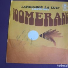 Discos de vinilo: BOOMERANG SG CARNABY 1978 LIGHTS OFF +1 FUNK SOUL DISCO. Lote 116567319