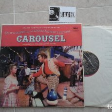 Discos de vinilo: RODGERS & HAMMERSTEIN ‎– CAROUSEL (THE SOUND TRACK OF THE MOTION PICTURE) LP: CAPITOL EDICIÓN UK. Lote 116568111