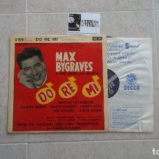 Discos de vinilo: JULE STYNE, BETTY COMDEN AND ADOLPH GREEN, MAX BYGRAVES ?– DO RE MI (1961 ORIGINAL LONDON CAST) LP. Lote 116568355