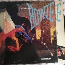 Discos de vinilo: LP DAVID BOWIE-BAILEMOS-ESPAÑOL. Lote 116569271
