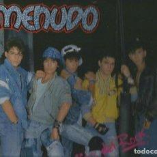 Discos de vinilo: MENUDO (RICKY MARTIN) LP SELLO MELODY EDITADO EN MEXICO AÑO 1987. Lote 269162413