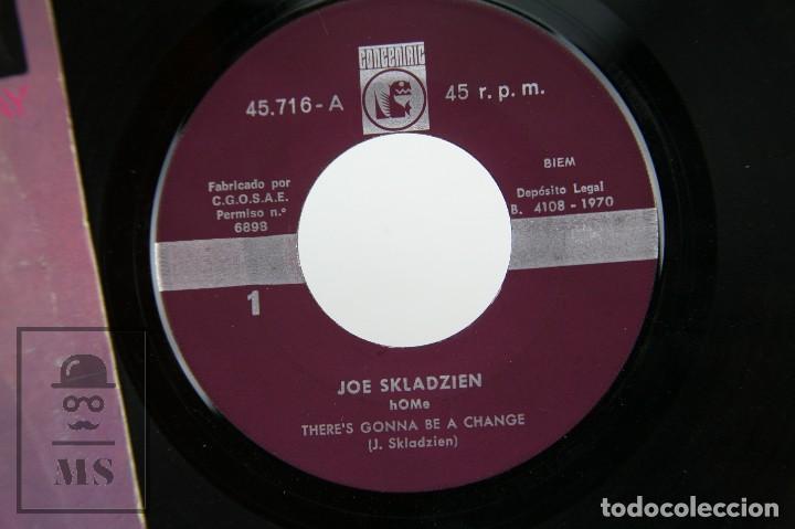 Discos de vinilo: Disco Single de Vinilo - Joe Skladzien. Home / There's Gonna Be a Change... - Concentric, 1970 - Foto 3 - 116580099