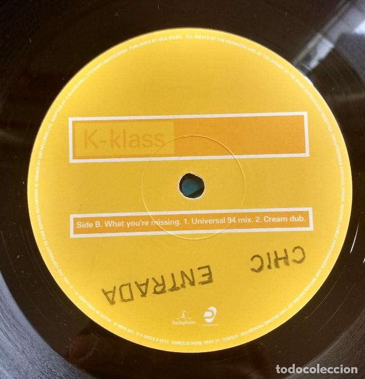 Discos de vinilo: K-Klass – What Youre Missing - Foto 3 - 116580451