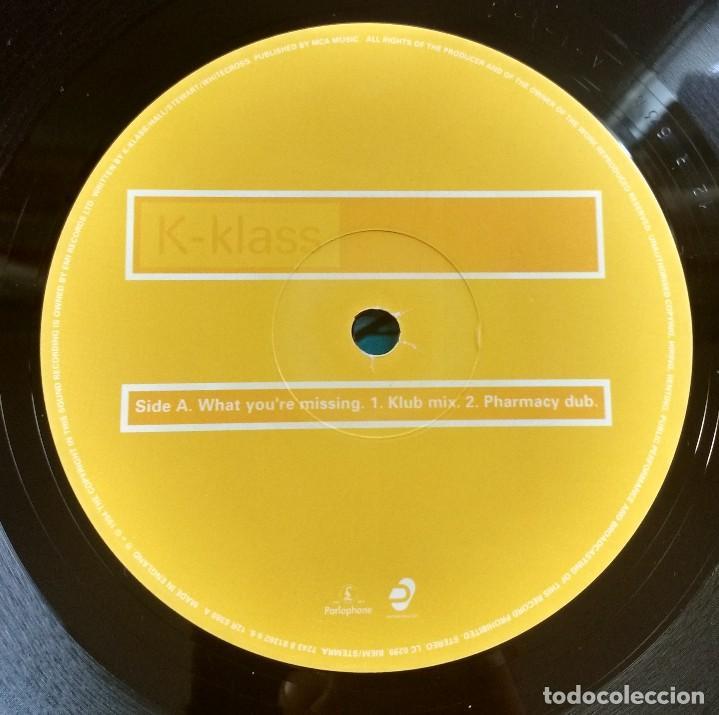 Discos de vinilo: K-Klass – What Youre Missing - Foto 4 - 116580451