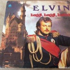 Discos de vinilo: ELVIN - LUGGI LUGGI, LUDWIG. YOU SET MY HEART ON FIRE. 1986.. Lote 119917967