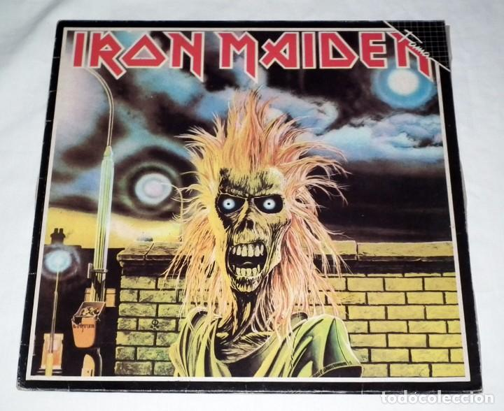 LP IRON MAIDEN - IRON MAIDEN (Música - Discos - LP Vinilo - Heavy - Metal)
