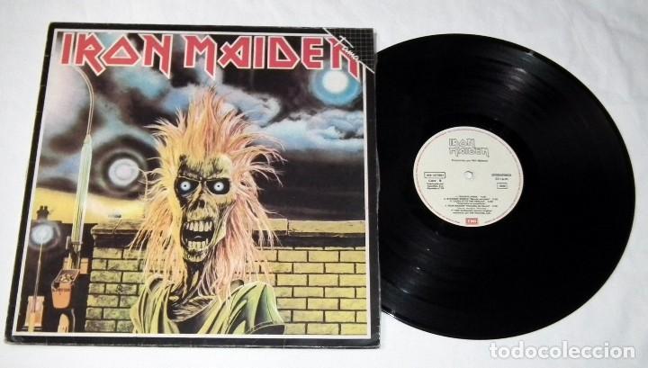 Discos de vinilo: LP IRON MAIDEN - IRON MAIDEN - Foto 3 - 116585839