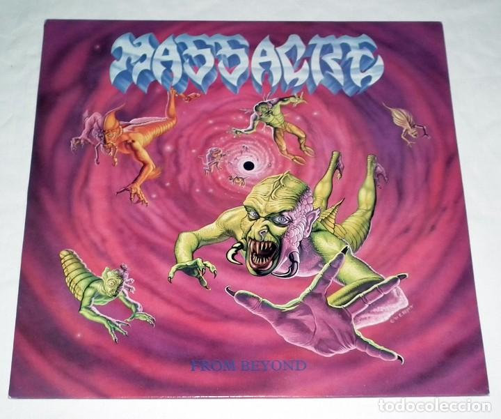 LP MASSACRE - FROM BEYOND (Música - Discos - LP Vinilo - Heavy - Metal)