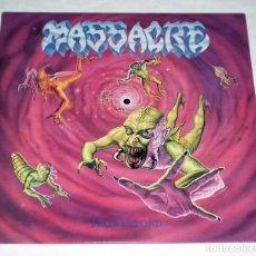 Discos de vinilo: LP MASSACRE - FROM BEYOND. Lote 116585995