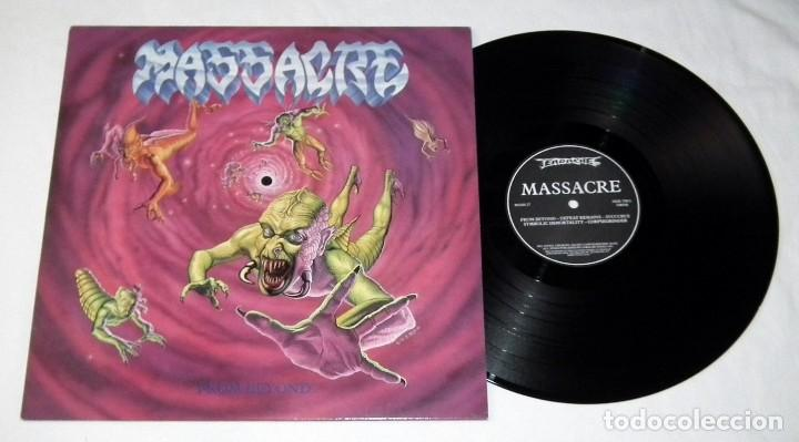 Discos de vinilo: LP MASSACRE - FROM BEYOND - Foto 3 - 116585995