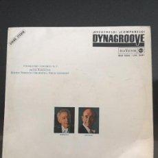 Discos de vinilo: ARTUR RUBINSTEIN & ERICH LEINSDORF - TCHAIKOVSKY CONCERTO N1 RCA VICTOR RECORDS 1964. Lote 116587491