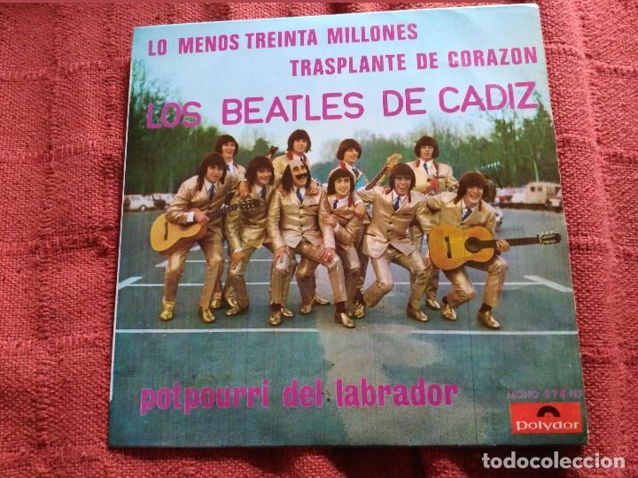 Discos de vinilo: carnaval de cadiz single los beatles de cadiz lo menos treinta millones - Foto 2 - 116587779