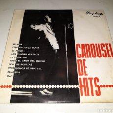 Discos de vinilo: CAROUSEL DE HITS- 10 PULGADAS- PERGOLA 1965 ESPAÑA 7. Lote 116595458