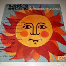 Discos de vinilo: NUESTRA ESPAÑA 2- ANTOLOGIA FOLKLORICA- 10 PULGADAS- ORLADOR 1964 ESPAÑA 7. Lote 116599652