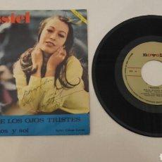 Discos de vinilo: MASSIEL. SINGLE FIRMADO,FECHADO Y DEDICADO POR LA ARTISTA.. Lote 116600148