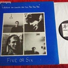 Discos de vinilo: FIVE OR SIX CÁNTAME ESA CANCIÓN QUE DICE YEAH YEAH YEAH ESPAÑOL 1982 NUEVO. Lote 116600203