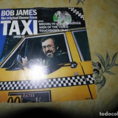 Discos de vinilo: BOB JAMES ?– THE ORIGINAL THEME FROM TAXI (ANGELA),12, 45 RPM, SINGLE,1983. Lote 116615719