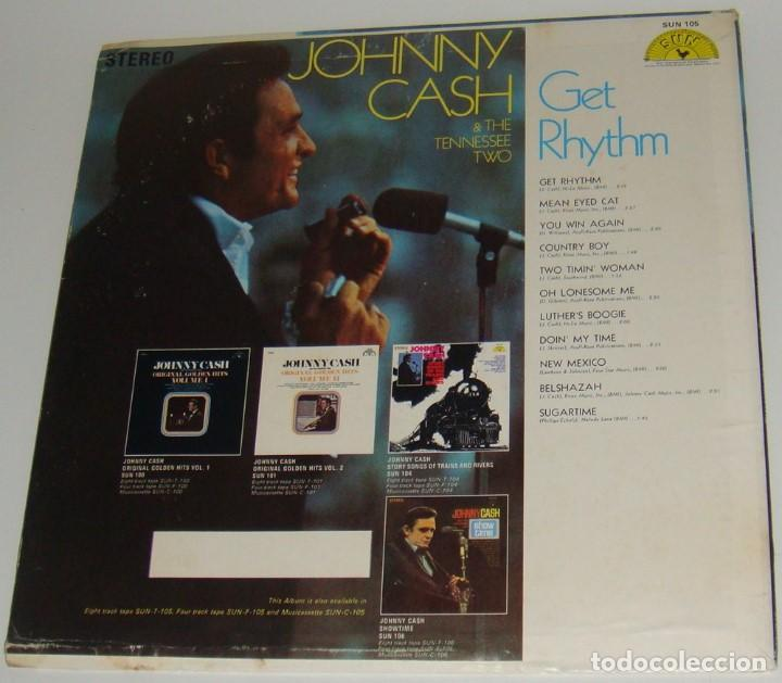 Discos de vinilo: LP - JOHNNY CASH - GET RHYTHM - MADE IN USA - JOHNNY CASH & THE TENNESSEE TWO - Foto 2 - 116620711