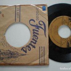 Discos de vinilo: PACHO GALAN - CUMBIA TROPICAL +1 - SG COLOMBIA 1950S // AFRO LATIN EXOTICA TITTYSHAKER ((LISTEN)). Lote 116620883