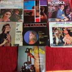 Discos de vinilo: LOTE 7 EPS DE AL CAIOLA. Lote 116625719