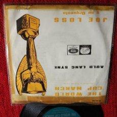 Discos de vinilo: JOE LOSS Y SU ORQUESTA THE WORLD CUP MARCH. Lote 116626711
