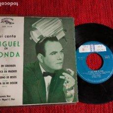 Discos de vinilo: MIGUEL DE RONDA EP ALLÁ EN GRANADA+ 3 TEMAS. Lote 116627739