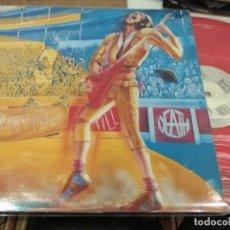 Discos de vinilo: LP ORIG ESPAÑA THRASING TILL DEATH SCUM ANESTESIA ESTIGIA NTN 100 ALAIN VINILO ROJO VG+ MUY BUEN SON. Lote 116628803