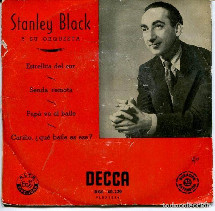 STANLEY BLACK / PAPA VA AL BAILE + 3 (EP 1958) (Música - Discos de Vinilo - EPs - Orquestas)