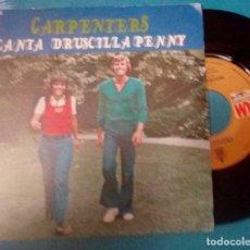 Discos de vinilo: CARPENTERS - CANTA / DRUSCILLA PENNY - SPAIN - HISPAVOX / AM 1973. Lote 116631959