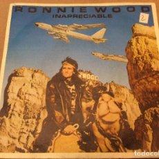 Discos de vinilo: RONNIE WOOD - PRICELESS / 1234 - SINGLE CBS 1981 - ROLLING STONES.. Lote 116637183
