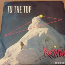 Discos de vinilo: RETURN - TO THE TOP / SING ME A SONG. DIAPASON 1988.. Lote 116637903