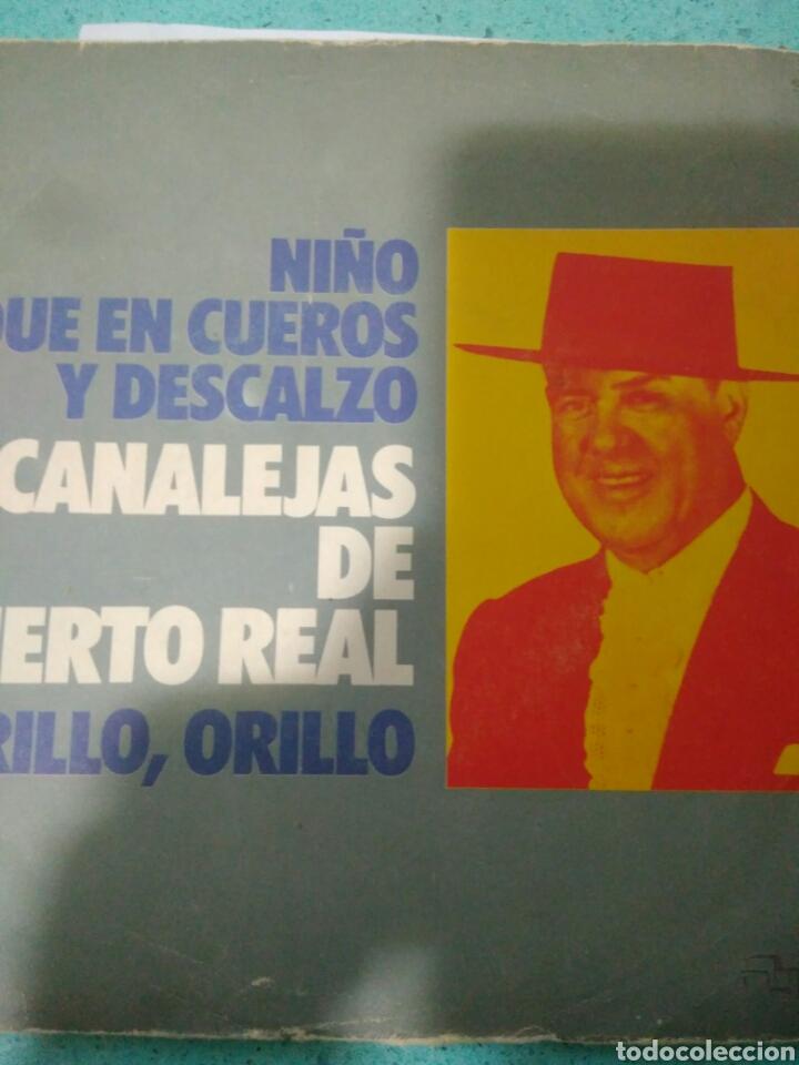 NIÑO QUE EN CUEROS Y DESCALZO CANALEJAS PUERTO REAL,ORILLO,ORILLO AÑOS 70 (Música - Discos - Singles Vinilo - Flamenco, Canción española y Cuplé)