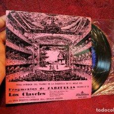 Discos de vinilo: FRAGMENTOS DE ZARZUELA,LOS CLAVELES(ATAULFO ARGENTA) SELECCION Nº 53. Lote 116638139