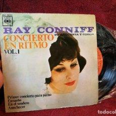 Discos de vinilo: RAY CONNIFF SU ORQUESTA Y COROS ?– CONCIERTO EN RITMO VOL. 1, CBS ?– AGS 20.114. Lote 116638423