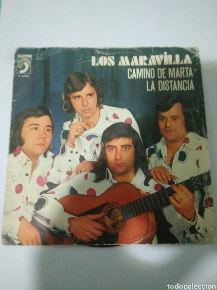LOS MARAVILLAS CAMINO DE MARTA LA DISTANCIA AÑOS 70,REF5334 (Música - Discos - Singles Vinilo - Flamenco, Canción española y Cuplé)
