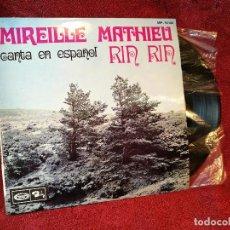 Discos de vinilo: EP MIREILLE MATHIEU CANTA EN ESPAÑOL - RIN RIN -BARCLAY 1968 .. Lote 116640019