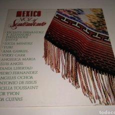 Discos de vinilo: MEXICO VOZ Y SENTIMIENTO (LP). Lote 116644311