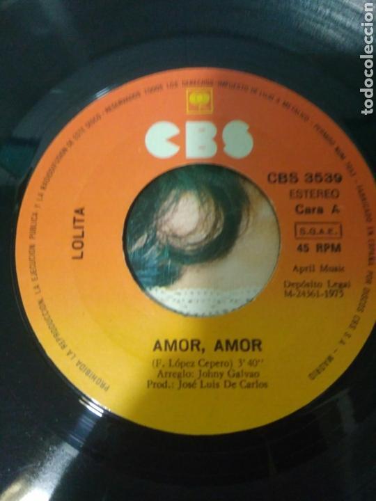 LOLITA AMOR,AMOR QUE SERA DE MI,VINILO AÑOS 70 (Música - Discos - Singles Vinilo - Flamenco, Canción española y Cuplé)