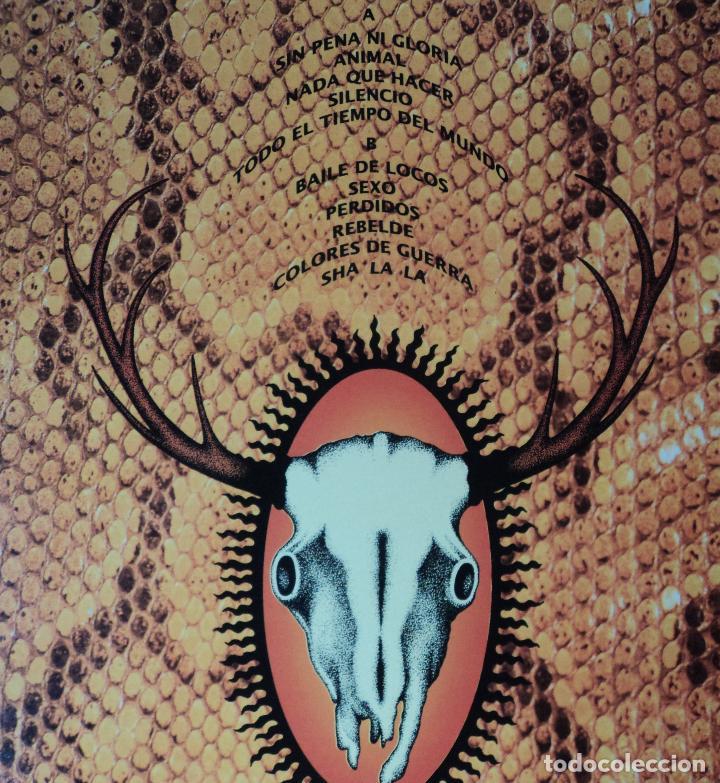 Discos de vinilo: El Alma - Animal - Edición de 1991 de España - Foto 3 - 116664979