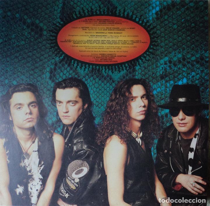 Discos de vinilo: El Alma - Animal - Edición de 1991 de España - Foto 4 - 116664979