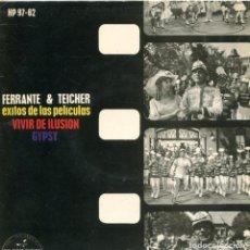 Discos de vinilo: FERRANTE & TEICHER (TEMAS DE PELICULAS) / LIDA ROSE / TODO SALE BIEN + 2 (EP 1963). Lote 116671903