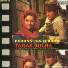 Discos de vinilo: FERRANTE & TEICHER (TEMAS DE PELICULAS) TARAS BULBA - CALAMITY JANE - PICNIC (EP 1961). Lote 116672403