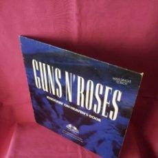 Discos de vinilo: GUNS N' ROSES - KNOCKIN' ON HEAVEN'S DOOR - GEFFEN 1992 - MAXI. Lote 155366718