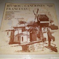 Discos de vinilo: RITMOS Y CANCIONES FRANCESAS- 10 PULGADAS- PERGOLA 1965 ESPAÑA 7. Lote 116673830