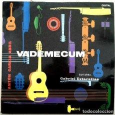 Discos de vinilo: ANTÓN GARCÍA ABRIL - VADEMECUM - GABRIEL ESTARELLAS - VINILO NUEVO, SIN USO. Lote 116676151