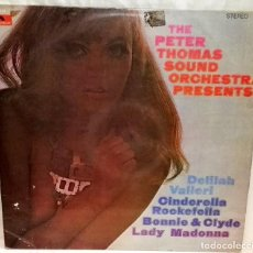 Discos de vinilo: THE PETER THOMAS SOUND ORCHESTRA PRESENTS - POLYDOR 1968. Lote 116678771